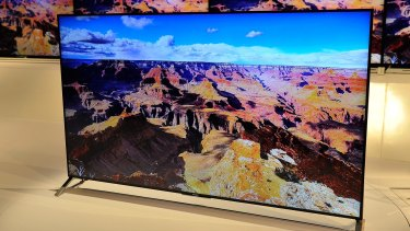 The X900C ultra slim 4K TV is only 0.2 inches deep at its thinnest point.