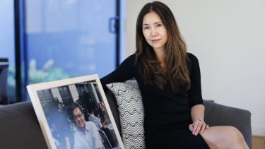 Still fighting: Jennifer Chong won't stop until she has found her husband, Chong Ling Tan.