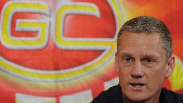 Gold Coast Suns' foundation coach Guy McKenna.
