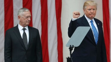 """US Defence Secretary Jim Mattis referred to a """"rules-based"""" order five times in his weekend speech to the big annual defence conference in Singapore."""