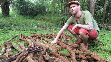 British child-actor-turned-ayahuasca-shaman Freddie Findlay.