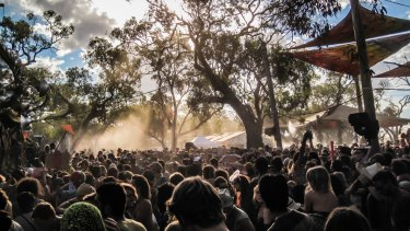Maitreya Festival attracts up to 10,000 punters to the Buloke Shire for a weekend of electronic music and alternative lifestyle workshops.