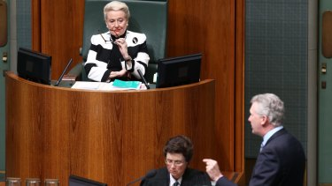 Tony Burke, pictured speaking to his motion of dissent against the Speaker Bronwyn Bishop in June, says Labor has written to the AFP over the Speaker's chopper ride.