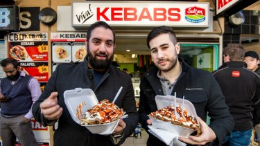 Halal Snack Pack's have taken off, despite not being a new thing. Harry Kaloyirou and Daniel Costabile are big fans.