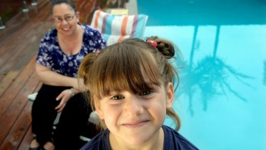 Rachel Hamment and her 6 year old niece Elizabeth Jones. Rachel rescued Elizabeth from a pool when she was 2 years old.