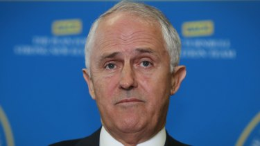 Prime Minister Malcolm Turnbull on Friday.