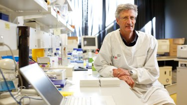 Immunologist Greg Woods at the Menzies Institute for Medical Research, University of Tasmania.