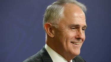 Prime Minister Malcolm Turnbull has no trouble filling in his census form online on Tuesday night.