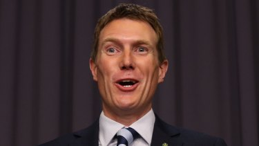 "Social Services minister Christian Porter says the family has undergone ""the usual checks and processes""."