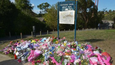The site of Masa Vukotic's murder in Doncaster.