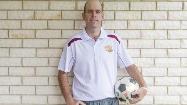 Matt Napier will kick a soccer ball across Southern Africa next year.