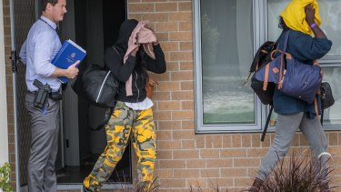 The house was rented by some teenage girls from Dandenong.