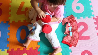 A Perth childcare centre has been fined after children were found playing near a busy road.