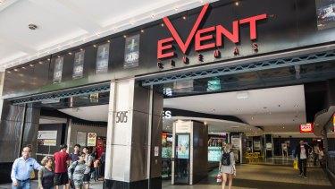 Event Cinemas on George Street in Sydney