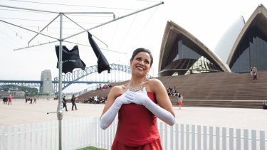 Singer Stacey Alleaume will perform in the silent opera <i>Sydney Opera House – The Opera (The Eighth Wonder)</i>.