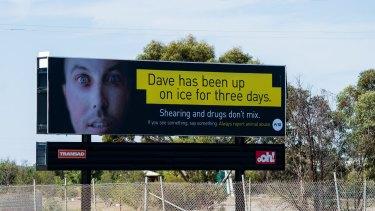 The PETA billboard in Horsham.