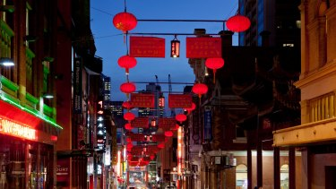 Chinatown shows its festive colours.