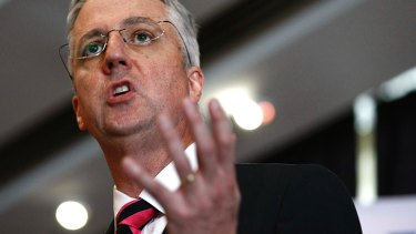 Outgoing ABC managing director Mark Scott.
