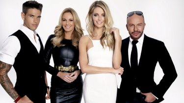 Australia's Next Top Model judges Didier Cohen, Charlotte Dawson and Alex Perry with Holmesville-raised Jennifer Hawkins as Host. Australia's Next Top Model, which premieres on Tuesday July 9 on Foxtel.