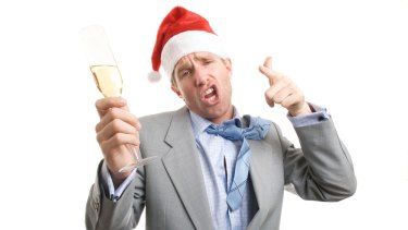 Drinking at the Christmas party could be much more tightly controlled.