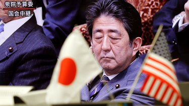 """Japanese Prime Minister Shinzo Abe: """"If Japan's economy improves, that's not a bad thing for the United States."""""""