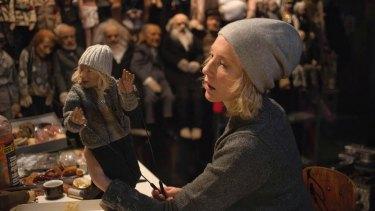 Cate Blanchett in Manifesto, a film by Julian Rosefeldt.
