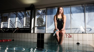 Jenna Jones, a vision-impaired athlete heading to her first Paralympic Games.