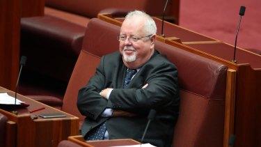 Coalition senator Barry O'Sullivan