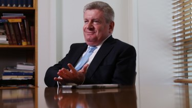 Communications Minister Mitch Fifield.