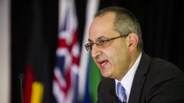 Immigration Department head Michael Pezzullo has previously said the merger would lead to job losses at the executive level.