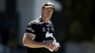 Not to blame: Souths players have come out in support of under-fire coach Michael Maguire.
