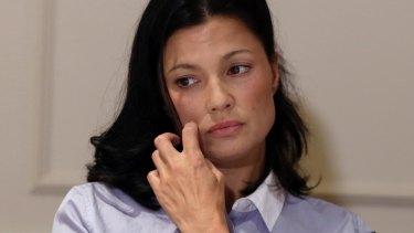 Actress Natassia Malthe alleges non-consensual sex by Harvey Weinstein in New York on Wednesday.