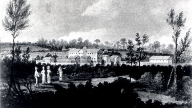 The Female Factory at Parramatta, which opened in 1818.