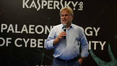 Eugene Kaspersky, a Russian mathematician who became a leading cybersecurity expert and businessman.
