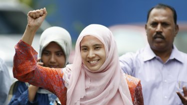 "Nurul Izzah, daughter of imprisoned Malaysian opposition leader Anwar Ibrahim, was released on bail on March 17. She has warned that Malaysia is sliding towards becoming a ""police state""."