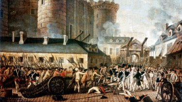 The French Revolution revealed two contradictory trends.