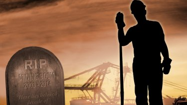 The end of the mining boom has meant doom for many West Australians.