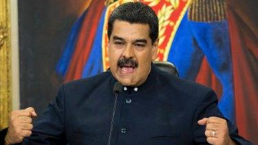 Venezuelan President Nicolas Maduro.