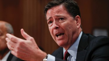 James Comey: 'team has been working around the clock to process and review a large volume of emails'.