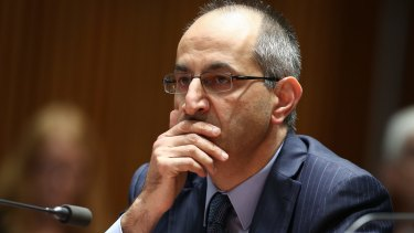 Imigration Department secretary Michael Pezzullo.