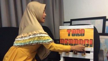 West Sumbawa teacher Dewi Kurniati.