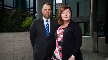 Detective Superintendent Linda Howlett and Detective Inspector Mick Haddow from the Sex Crimes Squad say online grooming offences are pervasive.