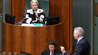 Manager of opposition business Tony Burke wants Bronwyn Bishop out of the Speaker's chair.