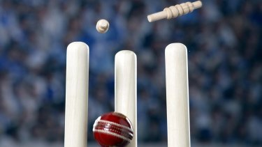 Investigation launched: The Ashes has been rocked by allegations of match fixing.