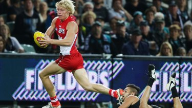 The price is wrong: Isaac Heeney came too cheap according to many.