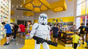 Lego Store, the first of its kind in Australia, offers fans a chance to find some of the more rare Lego sets.