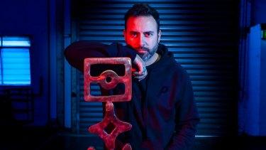 Melbourne artist Reko Rennie's art will illuminate Federation Square.