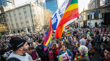 Most opinion polls show overwhelming support for a public vote on same-sex marriage.