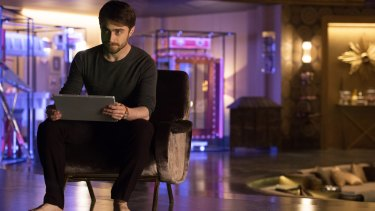 Daniel Radcliffe plays a scheming tech billionaire in <i>Now You See Me 2.</i>