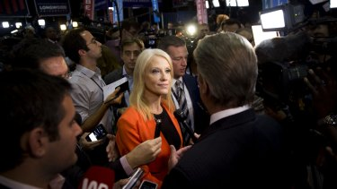 Trump campaign manager Kellyanne Conway.